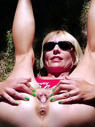 Amateur mature, Mature flashing, Justine