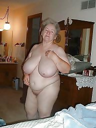 Grandma, Grandmas, Fat tits, Fat, Mature boobs, Fat mature