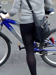 Voyeur, Pantyhose, Street, Amateur stockings, Candid pantyhose