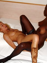 Vieille, interracial