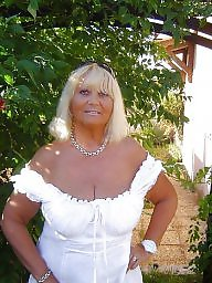 Older, Mature dress, Dressing, Busty mature, Dress, Dressed