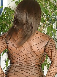 Netted, Nets, Net boobs, Naturals black, Natural ebony, Ebony dressed