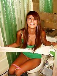 Voyeur, Bathroom, Caught
