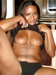 public flashing Ebony