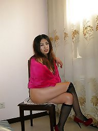 Asian wife, Asian stockings