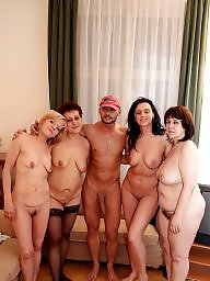 Cocks, Sharing, Mature group, Mother, Mature sex, Shared