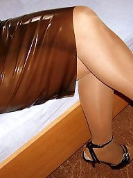Mature pantyhose, Mature, Pantyhose, Wife, Amateur mature, Latex