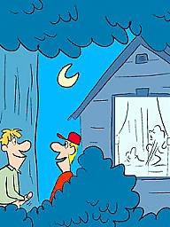 July, Julie t, Julie o, Julie, Humoristic, Adult cartoons