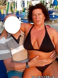 Mature tits, Old, Fat, Fat mature