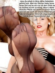 Caption, Nylon, Captions, Milf caption, Nylons