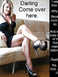 Femdom captioned images