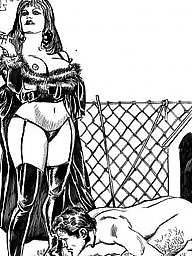 Femdom cartoon, Bdsm cartoons, Bdsm cartoon, Drawings, Drawing