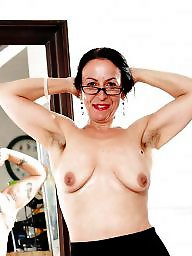 Hairy mature, Armpit, Mature hairy