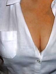 Flashing tits, Blouse, Summer