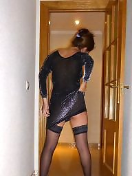 Amateur stockings, My wife, Wife, Hot wife, Wife stockings, Upskirt