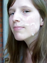 Facials, Facial, Girl, Hardcore, Amateur facial, Amateur facials