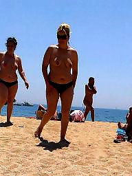 Mature beach, Beach mature, Beach, Breasts