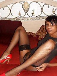 Ebony stockings, Ebony amateur, Ebony spreading, Ebony spread, Spread, Leggings