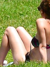 Mature beach, Mature bikini, Bikini