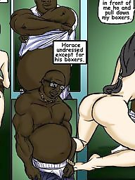 Interracial cartoons, Cream pie, Interracial cartoon, Cartoon, Cream, Cartoon interracial