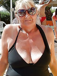 Amateur granny, Cleavage, Granny mature, Granny tits, Amateur mature, Mature cleavage