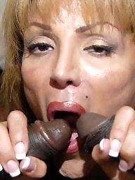 Cock sucking, Cock suck, Sucking, Hot mature, Interracial milf, Black cocks