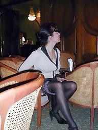 French milf, French, Hotel, Milf public