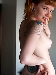 Nipples, Nipple, Redhead, Tattoos