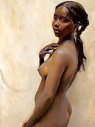 Art, African, Erotic, Cartoons