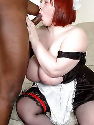Bbw interracial, Maid