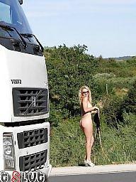 Roads, Public road, Public amateur flash, Public naked, Naked public, Naked nudity