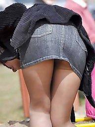 Nylon mature, Mature nylon, Street, Mature nylons, Amateur mature