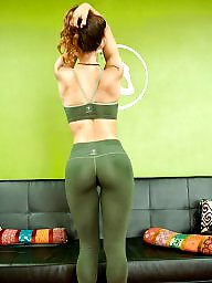 Yoga, Yoga pants, Pants, Amateur ass