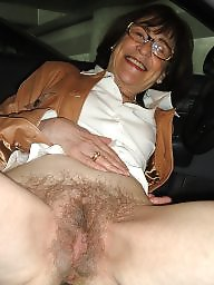 Mature hairy, Haarig