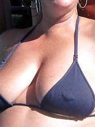 Big tits beach, Beach tits, Beach, Big boobs amateur