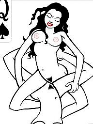 Interracial cartoons, Queen of spades, Cartoon interracial, Interracial cartoon, Cartoon