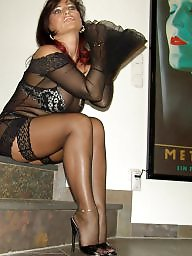Lady barbara, Stocking milf, Mature stockings, Ladies, Barbara