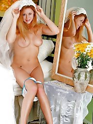Amateur stockings, Bride, Stockings, Brides