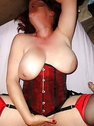 Red, Stocking milf, Red stockings