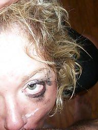Amateur facial, Stupid, Whore