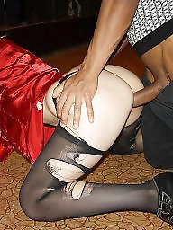 T its milf, Wives stockings, Stockings doggystyle, Stocking wives, Milf doggystyle, Doggystyles