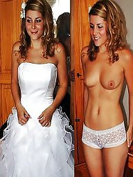 Undressed then brides dressed