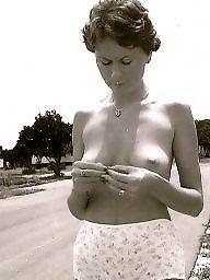 Vintage amateur, Public nudity, Public, Vintage, Nude