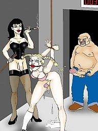 Femdom cartoon, Bdsm cartoons, Femdom art, Bdsm art, Femdom cartoons, Femdom