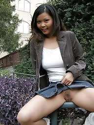 public Asian upskirt