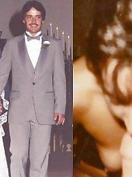 Clothed unclothed, Bride, Vintage, Clothed, Brides, Unclothed