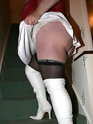 Boots, Bbw stocking, Bbw mature