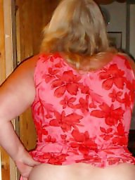 Bbw mature, Mature dress, Red