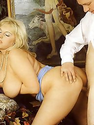 Vintage, Chubby mature, Lady