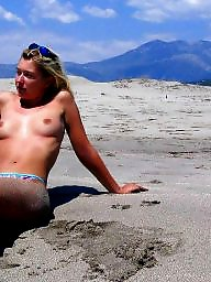 Amateur, Flashing, Beach, Nude